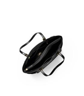 MICHAEL KORS VOYAGER BLACK SHOPPING BAG