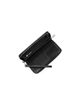 MICHAEL KORS JET SET CONTINENTAL BLACK WALLET