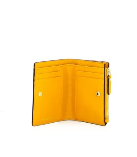 MICHAEL KORS JET SET YELLOW MEDIUM WALLET