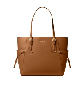 MICHAEL KORS VOYAGER LIGHT BROWN SHOPPING BAG