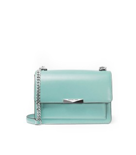 MICHAEL KORS JADE AQUA GREEN LARGE CROSSBODY BAG