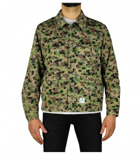 DEPARTMENT 5 BUTLER CAMOUFLAGE OVERSHIRT