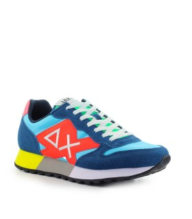 SUN68 JAKY PARTY TIME LIGHT BLUE TEAL SNEAKER