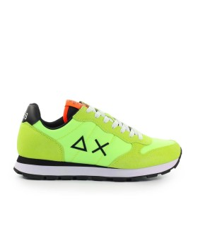 SUN68 TOM SOLID NYLON FLUO YELLOW SNEAKER