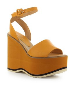 PALOMA BARCELÓ MAUES ORANGE WEDGE SANDAL