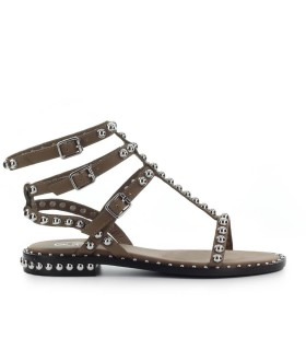 ASH PLAY MUD FLAT SANDAL