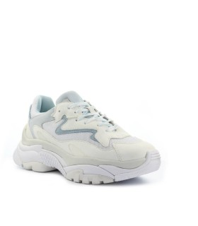 ASH ADDICT WHITE LIGHT BLUE SNEAKER
