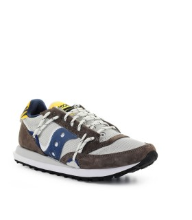 SAUCONY JAZZ DST BROWN GREY SNEAKER