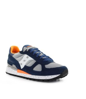 SAUCONY SHADOW ORIGINAL NAVY BLUE GREY ORANGE SNEAKER
