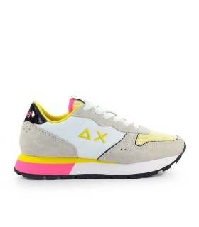 SUN68 ALLY SPORTY WHITE YELLOW SNEAKER