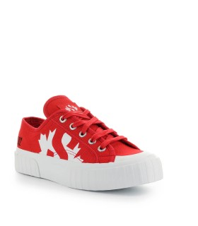 SUPERGA X DSQUARED2 RED SNEAKER