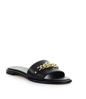 MICHAEL KORS RINA BLACK SLIDE