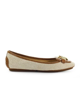 MICHAEL KORS LILLIE HEMP BEIGE LIGHT BROWN LOAFER
