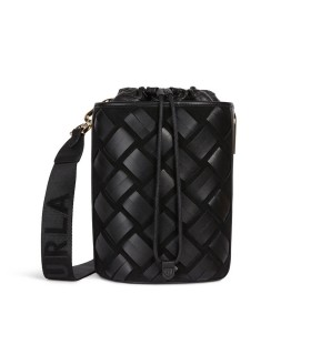 FURLA LIPARI BLACK BUCKET BAG