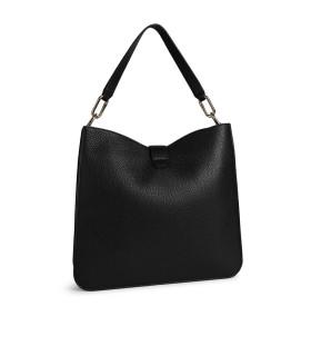 FURLA SOFIA GRAINY BLACK SHOULDER BAG