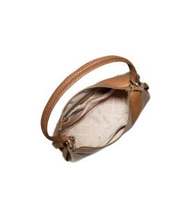 MICHAEL KORS GRAND LIGHT BROWN SHOULDER BAG