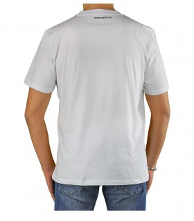 DEPARTMENT 5 MARTIN WHITE T-SHIRT WITH POCKET