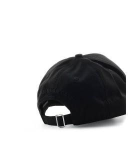 DSQUARED2 D2 LOGO BLACK WHITE BASEBALL CAP