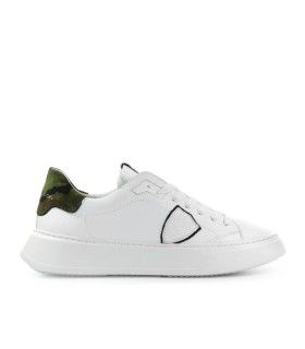 PHILIPPE MODEL TEMPLE CAMOUFLAGE WITTE SNEAKER