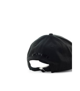 DSQUARED2 BE ICON BLACK BASEBALL CAP