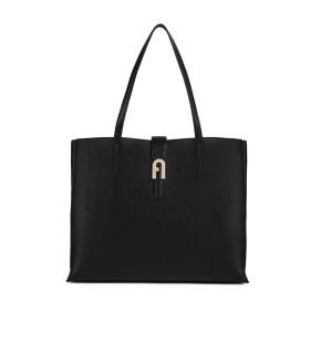 FURLA SOFIA BLACK SHOPPING BAG