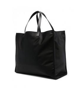 DSQUARED2 BE ICON BLACK WHITE SHOPPING BAG