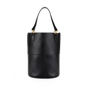 ELISABETTA FRANCHI BLACK BUCKET BAG