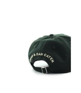 DSQUARED2 D2 PATCH WESTERN MILITAIR GROEN BASEBALL CAP