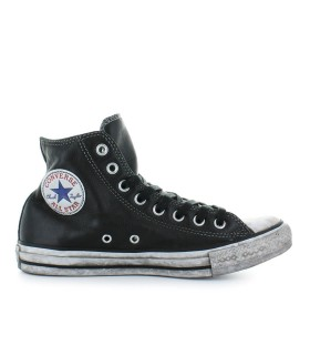 CONVERSE CHUCK TAYLOR ALL STAR BLACK LEATHER SNEAKER