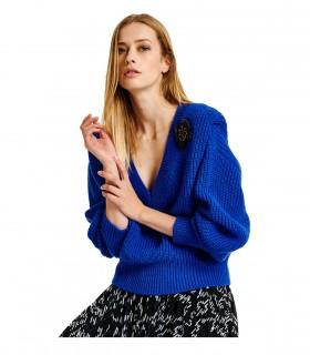 ESSENTIEL ANTWERP ALMENARA BRIGHT BLUE SWEATER