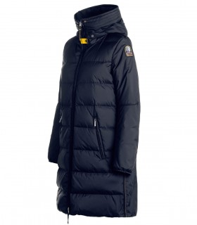 PARAJUMPERS TRACIE NAVY BLUE LONG PADDED COAT