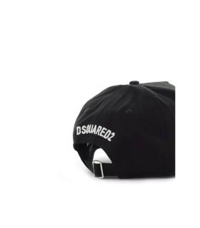 DSQUARED2 COOL ZWART BASEBALL CAP