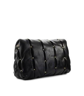 PINKO LOVE CLASSIC PUFF PINCHED CL BLACK CROSSBODY BAG