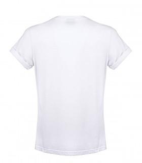 BARBOUR MULTI STEVE WHITE T-SHIRT