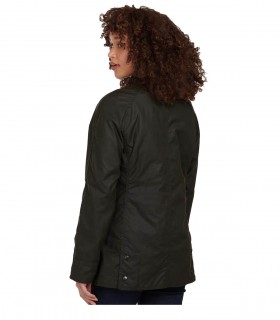 BARBOUR BEADNELL WAX OLIVE GREEN JACKET