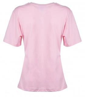 T-SHIRT LOGO BASIC ROSE CHIARA FERRAGNI