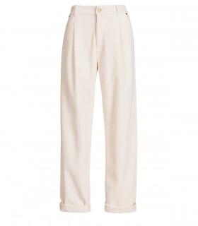 ESSENTIEL ANTWERP ASHTONISHING CREAM WHITE PANTS