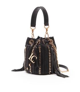 LA CARRIE CROSSPLAY BLACK BUCKET BAG