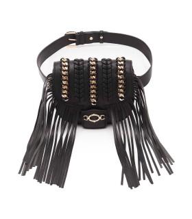 LA CARRIE CROSSPLAY BLACK SHOULDER BAG