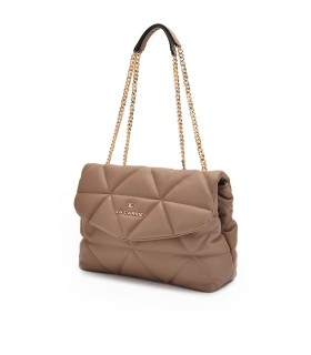 LA CARRIE TOUCHY TAUPE SHOPPERTASCHE