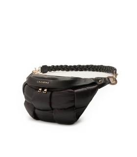 LA CARRIE PADDED BLACK BELT BAG