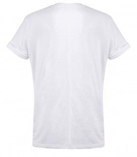 PAOLO PECORA WHITE T-SHIRT